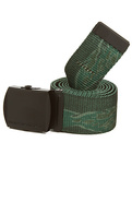 Men&#39;s The Perfect Timing Belt in Green Tiger, Belt