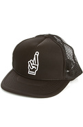Men&#39;s The Suicide Pact Trucker Hat in Black, Hats