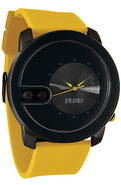 Men's The Exchange Watch in Gun, Black, & Yellow,