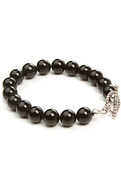 Men&#39;s The Gemstone Bracelet in Onyx, Jewelry
