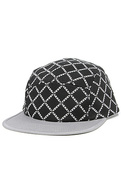 Men's The Chain Link Camper Cap in Black, Hats