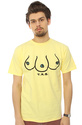 Men&#39;s The T.R.B. Tee in Yellow, T-shirts