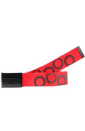Men&#39;s The Logo Belt in Black &amp; Red, Belts
