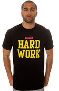 Men's The Hard Body Tee in Black, T-shirts