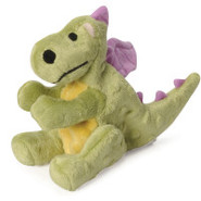 goDog Mini Lime Dragon with Chew Guard Technology