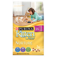 Purina Kitten Chow brand Kitten Food NURTURING FOR