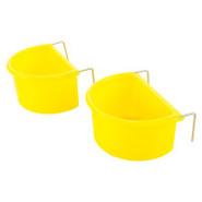 Grreat Choice Small Bird Coop Cup Set