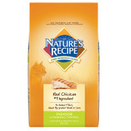 NATURE'S RECIPE Natural Indoor Cat Food