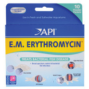 E.M. Erythromycin Anti-Bacterial Fish Medication