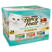 Fancy Feast 3-Flavor Gourmet Cat Food Variety Pack