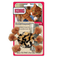 KONG&amp;reg Daddy Pom Pom Legs Refillable Catnip Toy