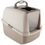 Catit Hooded Cat Pan with Door and Replacement Fil