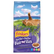 Friskies Surfin&#39; &amp; Turfin&#39; Favorites Dry Cat Food