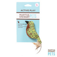 Martha Stewart Green Fair Isle Bird Cat Toy