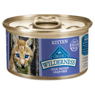 BLUE Wilderness Canned Kitten Food
