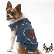 Bret Michaels Pets Rock Jean Vest