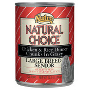 Nutro Natural Choice Large Breed Senior Chicken &amp; 