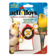 JW Pet Activitoys Roulette Wheel for Birds