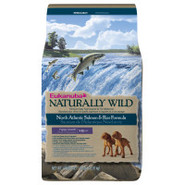 Eukanuba Naturally Wild North Atlantic Salmon & Ri