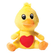 Luv-A-Pet Small Animals w/Heart Bellies Dog Toys