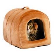 Whisker City Cashew Cat Hut