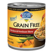 Nature&#39;s Recipe Grain-Free Natural Chicken &amp; Venis