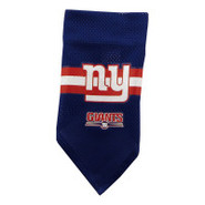 New York Giants Dog Collar Bandana
