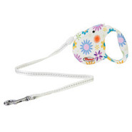 Flexi Fashion Cord Style Retractable Flower Leash