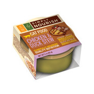 Simply Nourish Chicken &amp; Duck Stew Cat Food