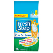 Fresh Step Clay Cat Litter with Odor-Eliminating C