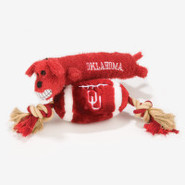 Pets First Oklahoma Sooners Plush Collegiate Dog T
