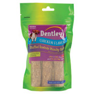 Dentley's Stuffed Rawhide Munchy Rolls