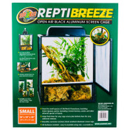 Zoo Med ReptiBreeze Open Air Black Aluminum Screen
