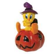 Top Fin Looney Toons Tweety Pumpkin Aquarium Ornam