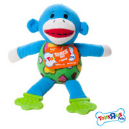 Toys  R  Us&reg Pets Monkey Teether Dog Toy