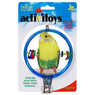 Insight Activitoy Clear Ring Bird Toy