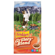 Friskies Grillers&#39; Blend Dry Cat Food