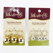 Whisker City Cat Collar Bell Charms