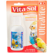8 in 1 Vita-Sol UltraVite Bird Vitamin Supplement