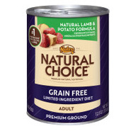 Nutro Natural Choice Grain-Free Natural Lamb & Pot