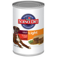 Science Diet Light Dog Food Maintenance in Cans
