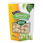 Dingo Naturals Mini Bones Rawhide Dog Treats