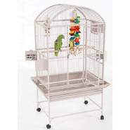 A&E Dome-Top Cage in Platinum