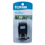 Top Fin Aquarium Gang Valve