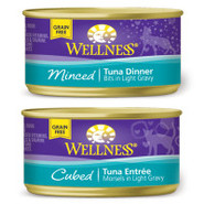 Wellness Grain Free Tuna Dinner for Cats