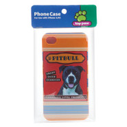 Top Paw iPhone Case - Pitbull