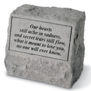 Our Hearts Still Ache... Pet Headstone