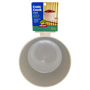 Top Paw Crate Crock Dog Bowl