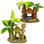 Exotic Environments Tahiti Village Ornament