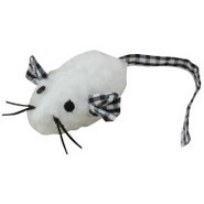 Grreat Choice Sheep Skin Catnip Mouse